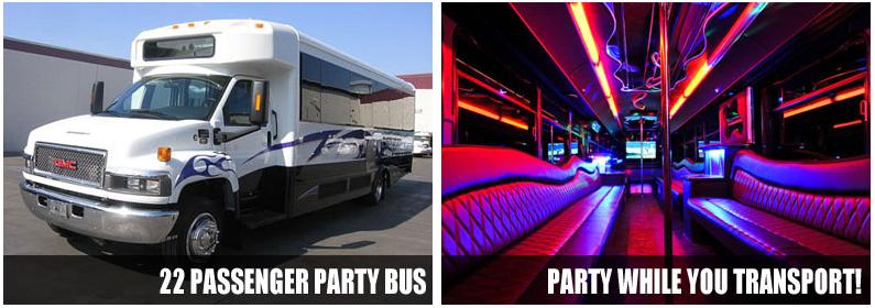 party bus rentals minneapolis