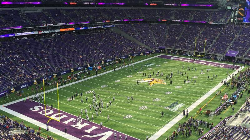 Party Bus Us Bank Stadium Minneapolis
